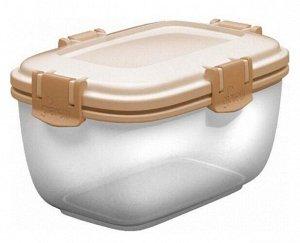 Контейнер для продуктов Fresh Barberry  прямоугольный 0,6л Сливочный крем