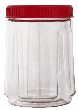 Банка для сыпучих продуктов Bono 0,75л сочный томат