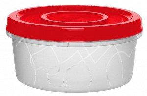 Емкость для продуктов с завинчивающейся крышкой 0,4 л сочный томат