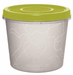 Емкость для продуктов с завинчивающейся крышкой 0,7 л оливковая роща
