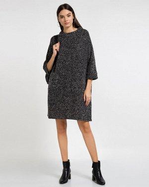 Платье жен. (002200) черно-белый