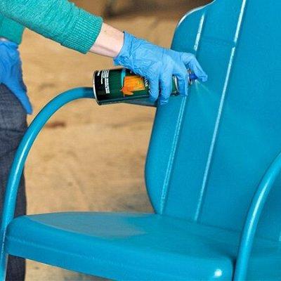 Освежители🌱 другая бытовая химия для дома и сада — Краска аэрозольная эмаль