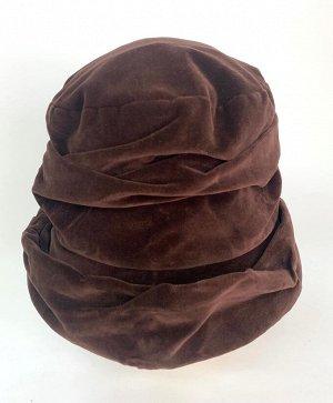 Стильная шляпа оригинального кроя  №1355
