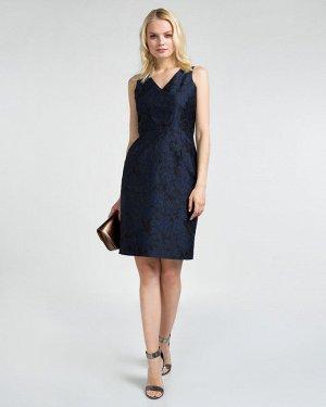 Платье жен. (194024)темно-синий