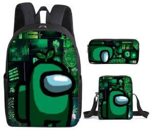 Набор из 3 предметов: рюкзак + сумка на плечо + пенал