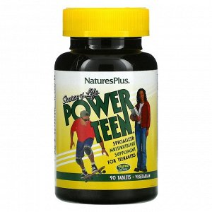 Nature's Plus, Source of Life, Power Teen, 90 Tablets
