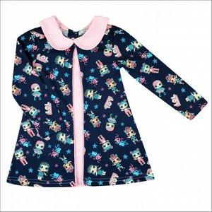 Платья Размер: 26, 28, 30; Рост: 86, 92, 98, 104 Описание Платье для девочек. Платье для девочек.