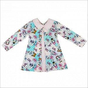 Платья Размер: 26, 28, 30; Рост: 86, 92, 98, 104 Описание Платье для девочек. ткань-кулирка Платье для девочек. ткань-кулирка