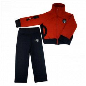 Спортивный костюм 0341/1 (красный)