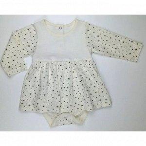 Боди-платье 5139/9 (звезды, кулирка)