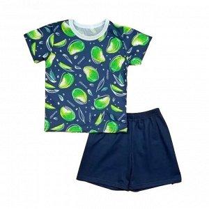 Костюм для девочки 0433/4 манго зеленый