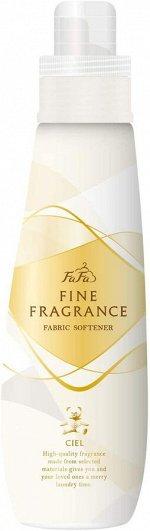 """Антистатический кондиционер FaFa Fine Fragrance """"Ciel"""" для белья с прохладным ароматом белых цветов 600 мл / 12"""