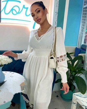 Платье ТКАНЬ: креп шифон