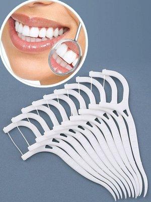 Флоссер для зубов/Зубная нить(мягкая упаковка)