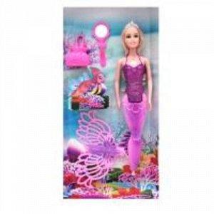 Кукла-русалка с аксессуарами, кор. 16,5*5*36 см