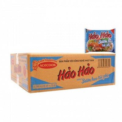 Вкусный Вьетнам. Поступление. Долгожданная лапша НАО НАО — Лапша упаковками от 8 штук. Еще дешевле
