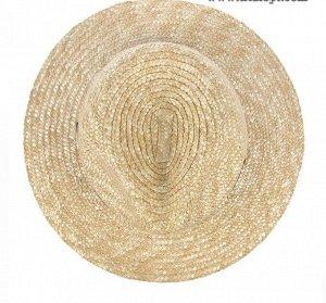 Шляпа Состав: natural materials (соломка) Ширина поля: 7 см. Диаметр шляпы: 31 см. Высота тульи: 10 см. Цвет основной: бежевый. Цвет дополнительный: нет. Аксессуар: лента. Детали: нет.