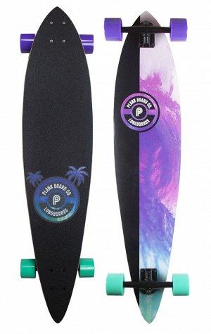 Лонгборд Plank Surfy (скейтборд) 105х23 см