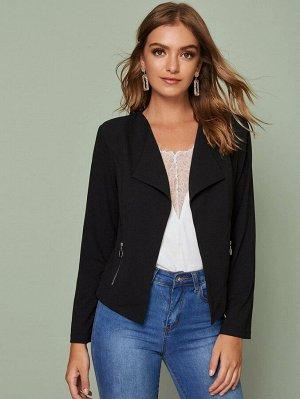Куртка с карманом и молнией