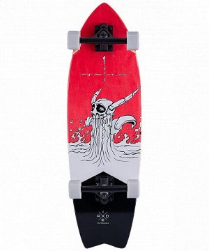 Круизер деревянный Ridex Plague 30X9.35 (скейтборд)