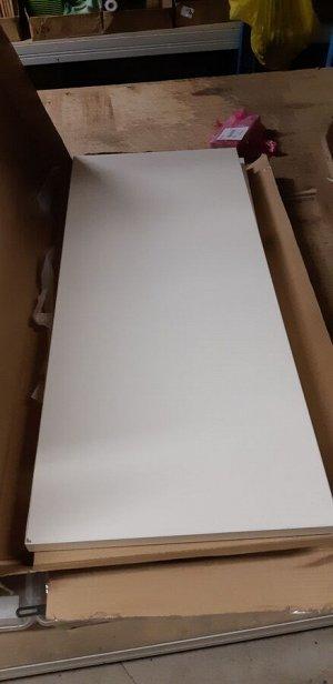 TJUSIG ЧУСИГ Скамья с полкой для обуви, белый81x34x50 см