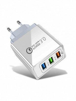 Зарядное устройство EU с 3 портами
