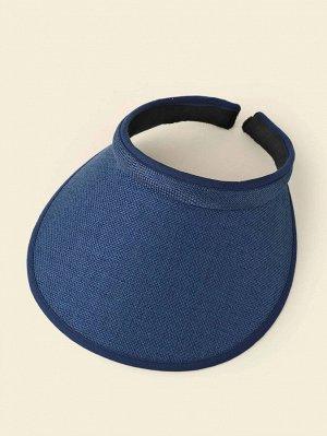 Минималистская шапка-козырек