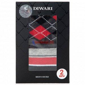 """17С-68СП-719 Набор мужских носков DIWARI, """"Classic"""", 2 пары, в фирменной коробке"""