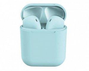 Bluetooth стереогарнитура inPods 12 голубая