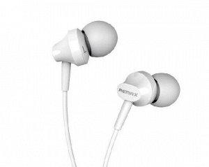 Наушники Remax RM-501 белые с микрофоном