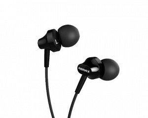 Наушники Remax RM-501 черные с микрофоном
