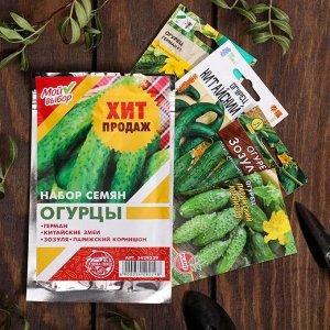 """Набор семян Огурцы """"Хит продаж"""", 4 сорта"""