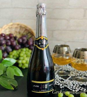 Газированный сок Белого Винограда Премиум HALAL 750 мл, стекло