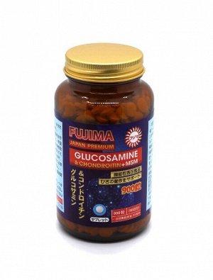 Глюкозамин+Хондроитин+MSM Fujima (900таб на 90 дней )