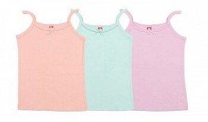 Майка для девочки 2241, цвета в ассортименте (бирюзовый, розовый, экрю)