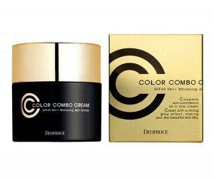 СС крем для лица Deoproce Color Combo Cream SPF49/PA++, 40g