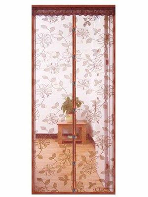 Дверная антимоскитная сетка на магнитах с рисунками