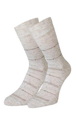 Носки мужские с эффектом ажур летние