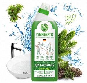 Synergetic Средство биоразлагаемое для мытья сантехники 0,7л Хвойный лес