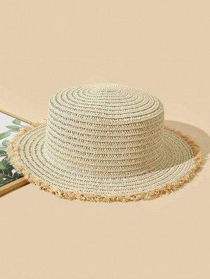 Соломенная шляпа для защиты от солнца