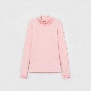 Водолазка для девочки CWKG 63029, розовая