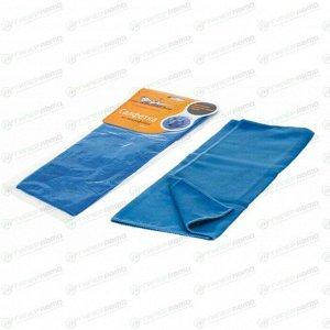 Салфетка Airline, для сухой и влажной уборки, универсальная, из микрофибры, 400x350мм, синяя, арт. AB-A-03