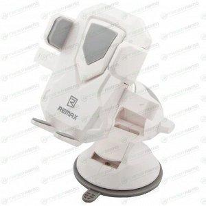 Держатель для телефона ReMax RM-C26 трансформер, белый/серый цвет