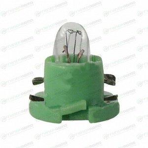 Лампа LYNXauto BAX (пластиковый цоколь, T5) 14В, 1.4Вт, комплект 10 шт (стоимость за упаковку 10 шт)