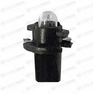 Лампа LYNXAuto BAX (BX2d black, T5), 12В, 1.2Вт, комплект 10 шт (стоимость за упаковку 10 шт)