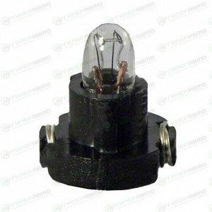 Лампа LYNXAuto BAX (пластиковый цоколь, T3), 12В, 0.91Вт, комплект 10 шт (стоимость за упаковку 10 шт)