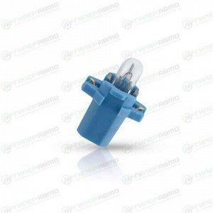 Лампа Philips Vision BAX (BAX8.3s/1.5 blue, T5), 12В, 2Вт, комплект 10 шт