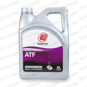 Масло трансмиссионное IDEMITSU ATF синтетическое, универсальное, 4л, арт. 30450248-746