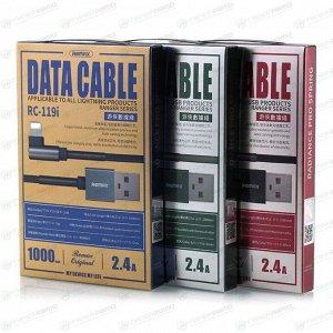 Кабель Remax Ranger Series DATA Cable RC-119i Apple, 2.4A, Black