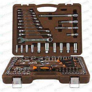 """Набор инструментов Ombra, под размеры 1/2"""", 1/4"""" и 3/8"""", комплект 120 предметов, арт. 55545"""